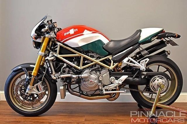 2008 Ducati Monster S4RS Tricolore #42