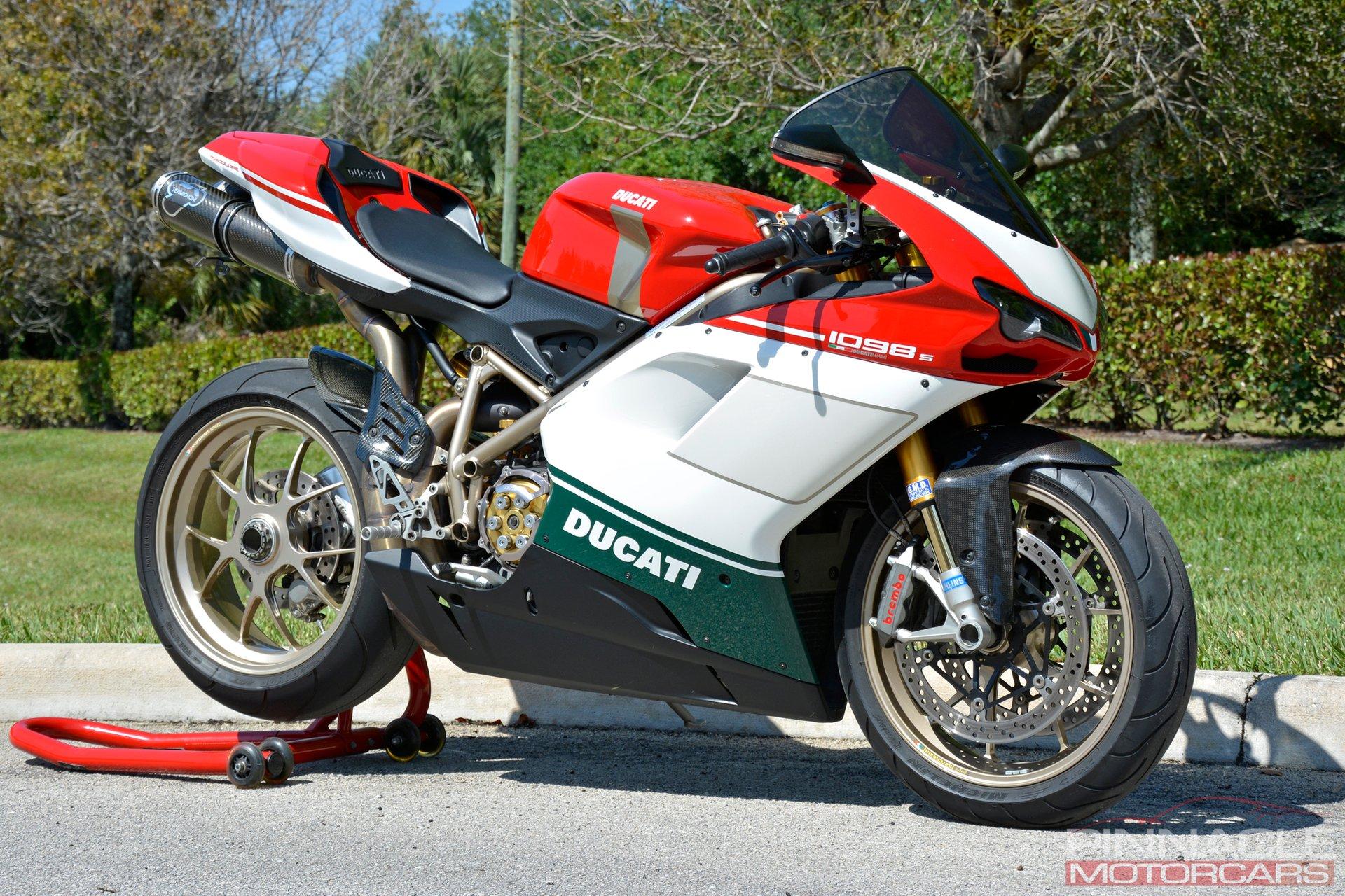 2007 Ducati 1098S Tricolore
