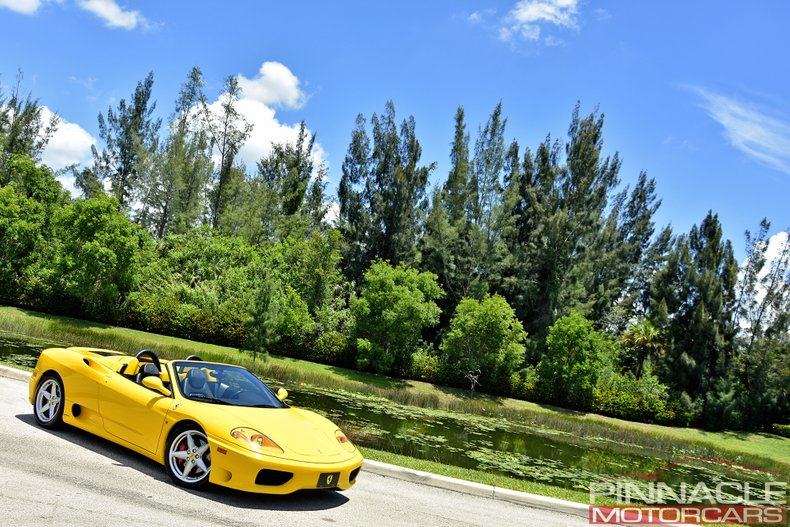 For Sale 2001 Ferrari 360 SPIDER/SPIDER F1