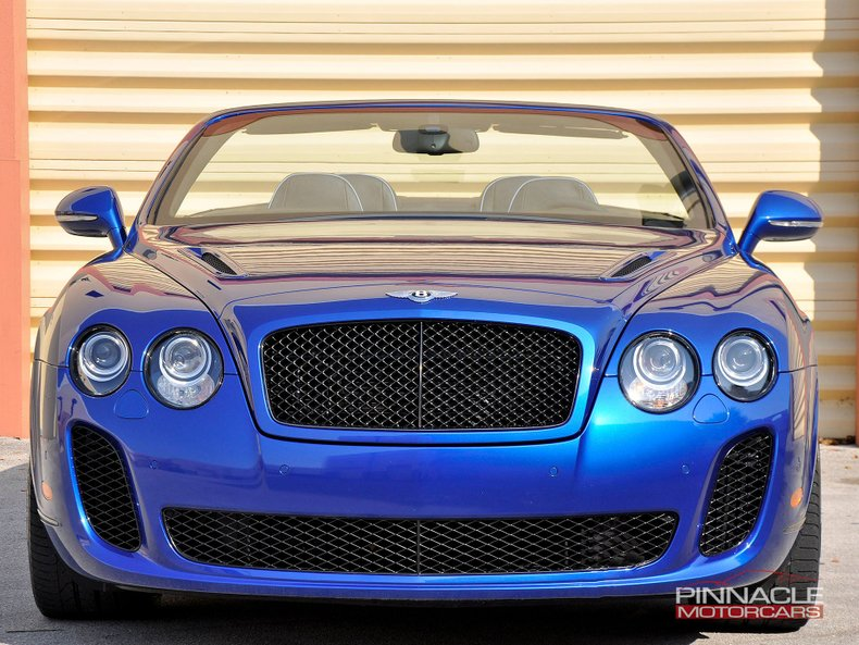 For Sale 2011 Bentley Continental Supersports