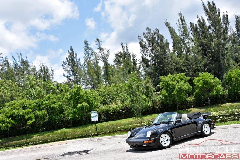 For Sale 1989 Porsche 911 Turbo Cabriolet