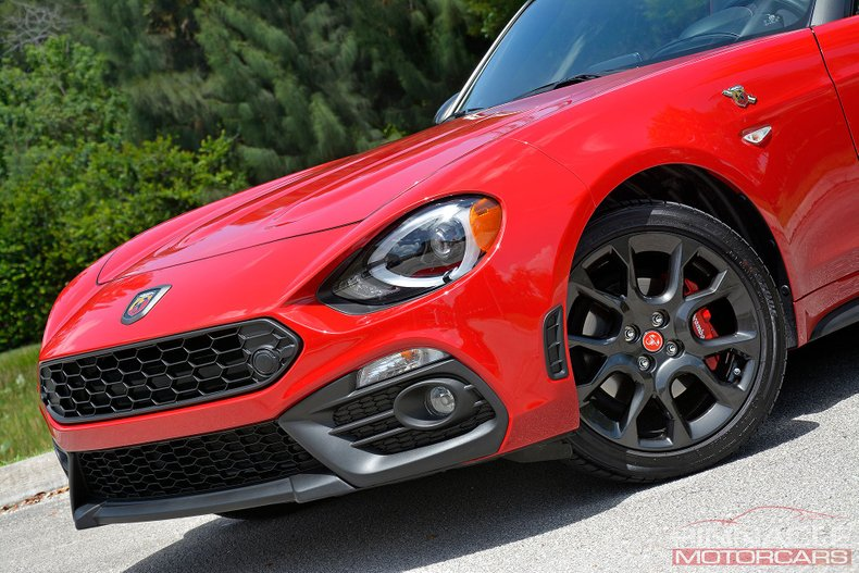 For Sale 2019 FIAT 124 Spider