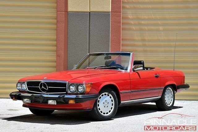 1989 Mercedes-Benz 560 SL Series Collector Quality