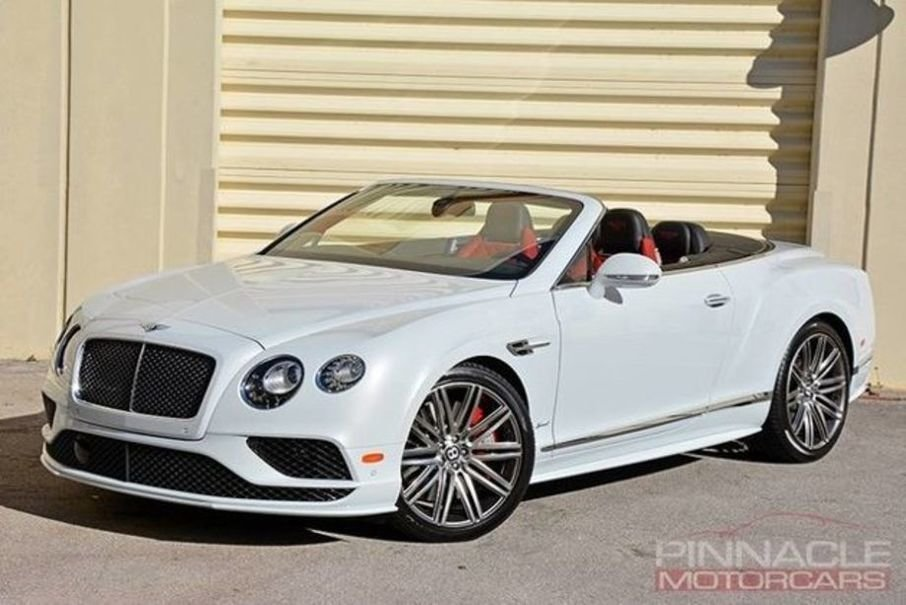 2016 Bentley Continental GT Speed Convertiable