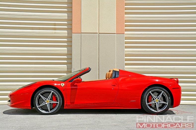 For Sale 2012 Ferrari 458