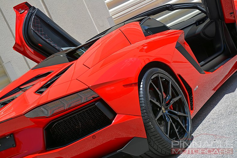 For Sale 2015 Lamborghini Aventador Roadster