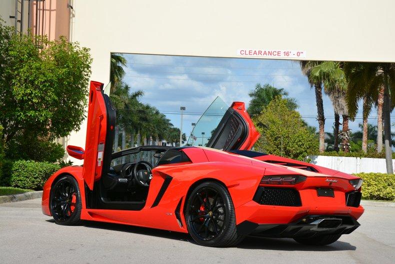 For Sale 2015 Lamborghini Aventador Roadster