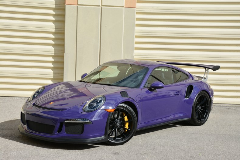 For Sale 2016 Porsche GT3RS