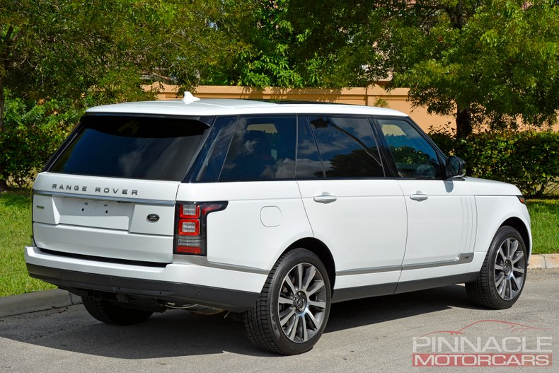 For Sale 2015 Land Rover Range Rover