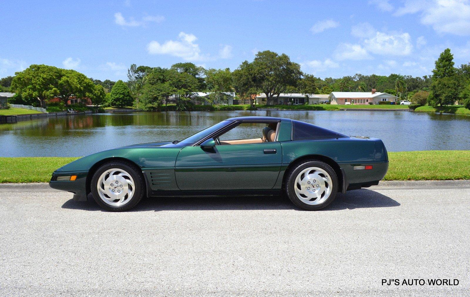 1993 chevrolet corvette 2dr coupe hatchback
