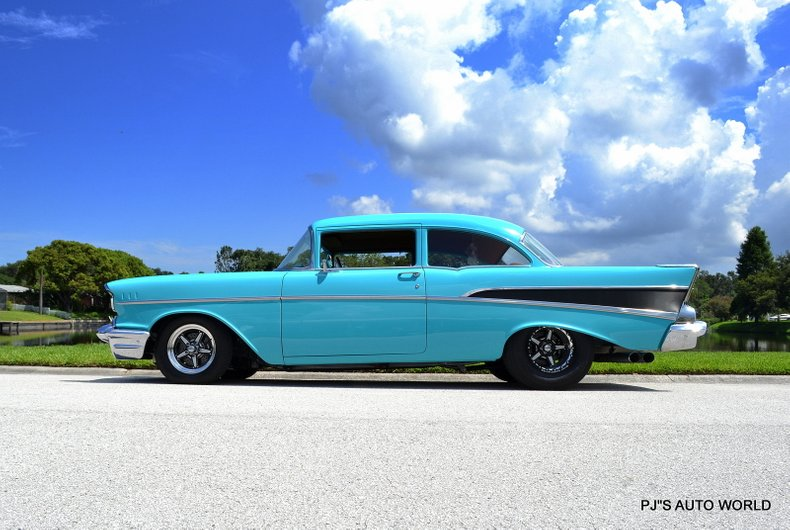 1957 chevrolet bel air ls swap twin turbo