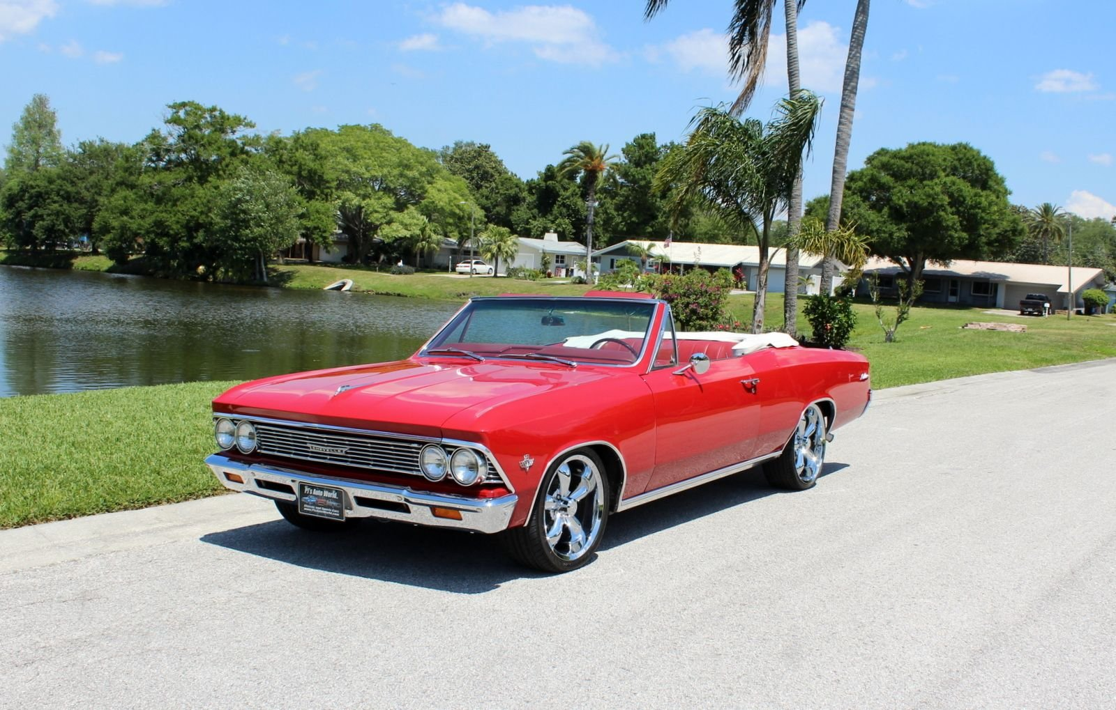 1966 chevrolet chevelle convertible