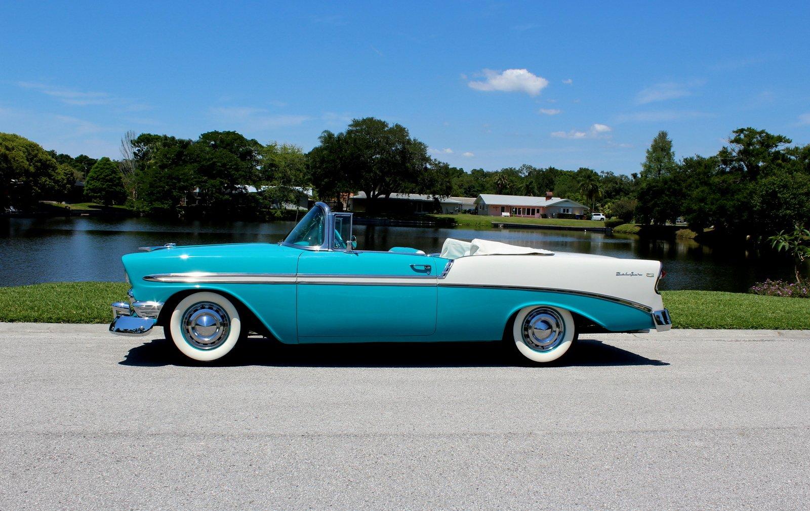 Superb 1956 Chevrolet Belair Pjs Autoworld Beutiful Home Inspiration Semekurdistantinfo
