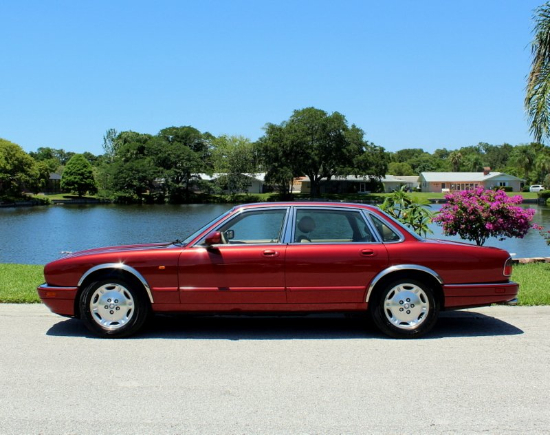 1995 jaguar xj 4dr sedan 4 0l