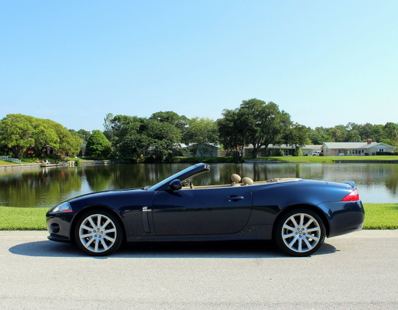2007 jaguar xk 2dr convertible