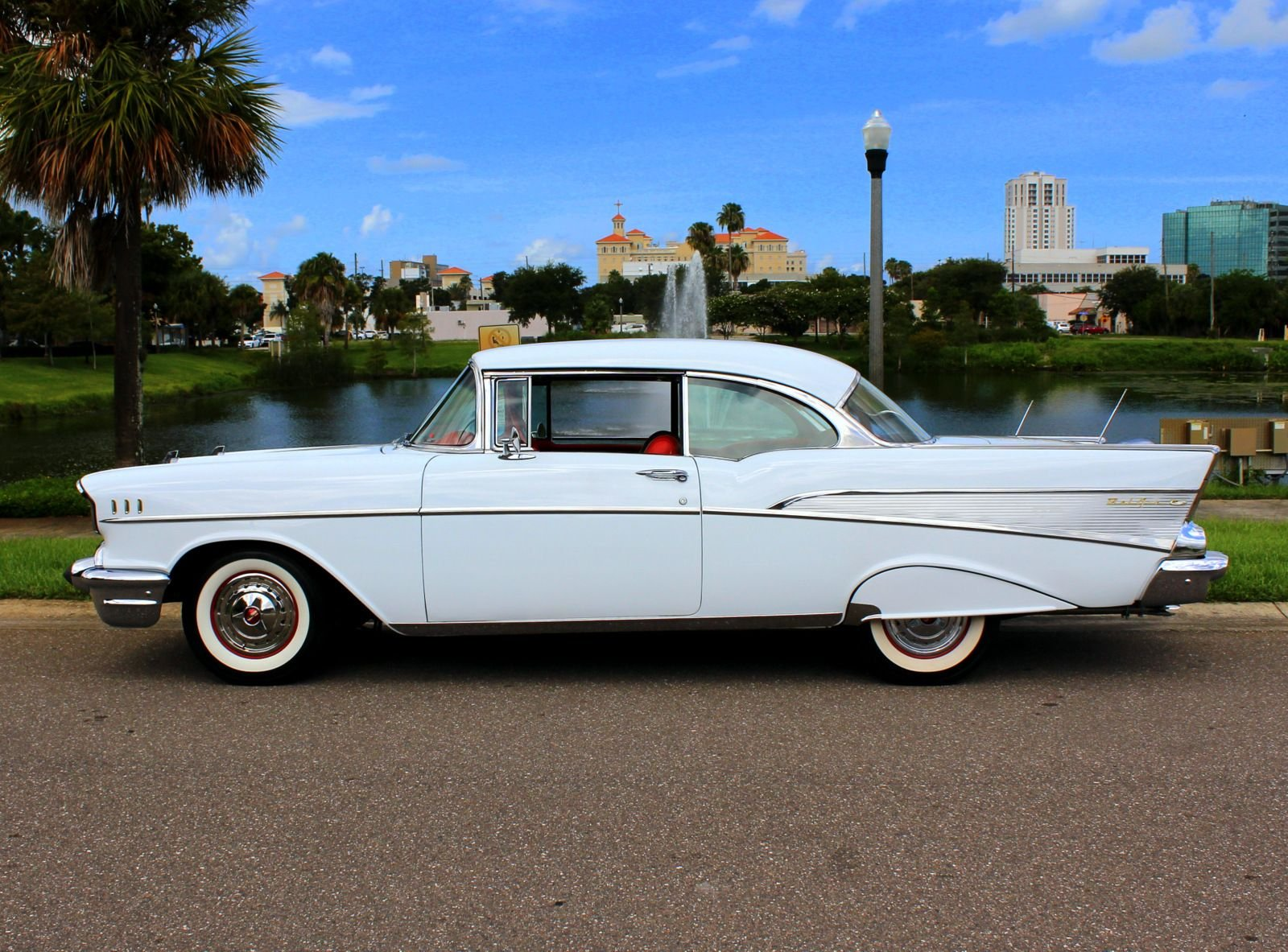1957 chevrolet 210 sport coupe