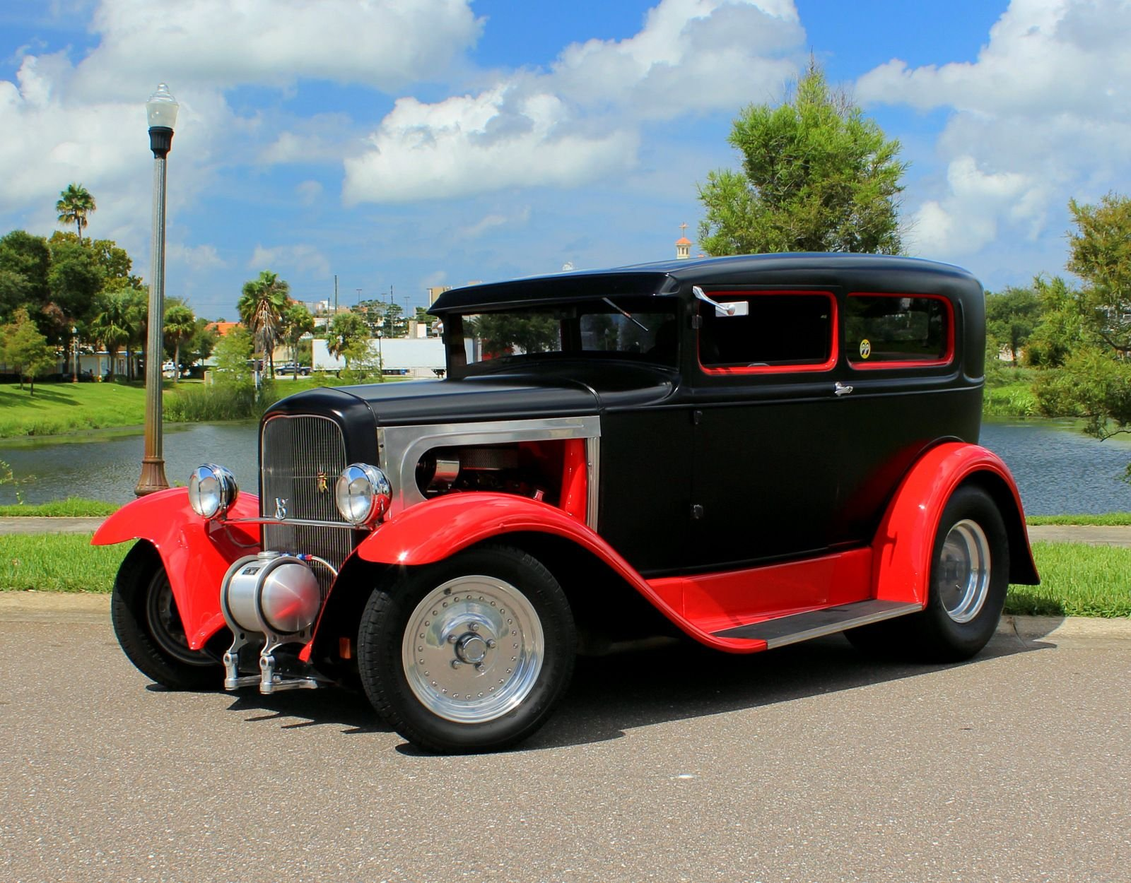 1930 ford tudor hot rod