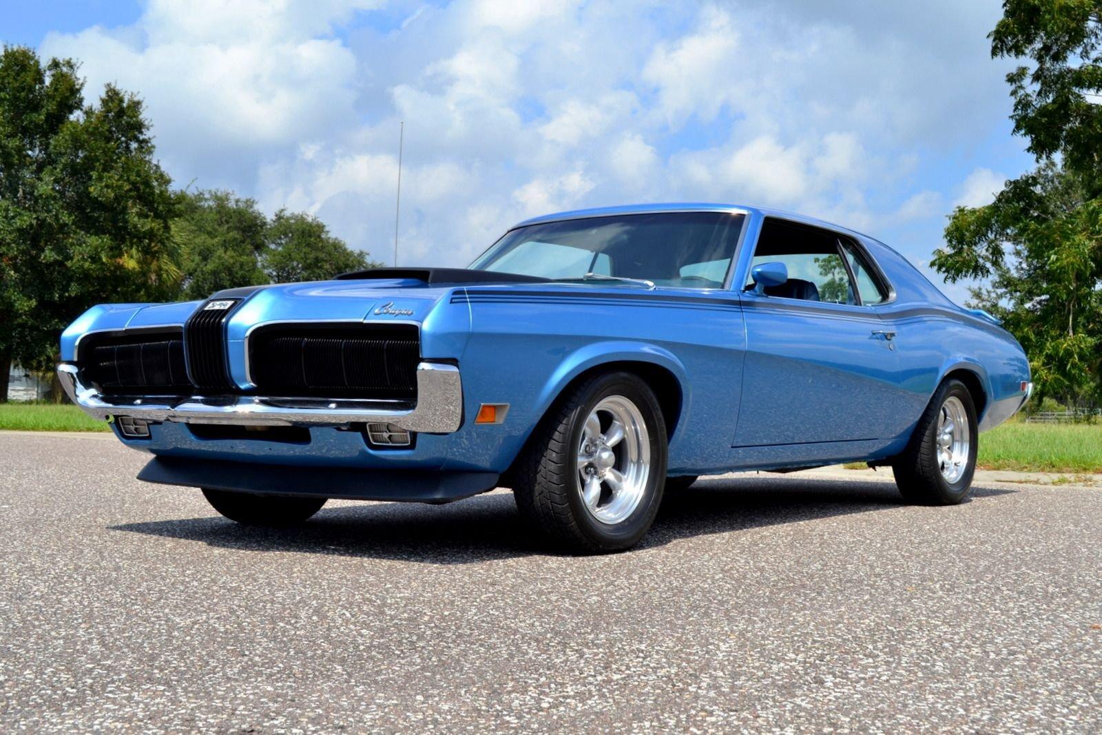 1970 mercury cougar eliminator tribute