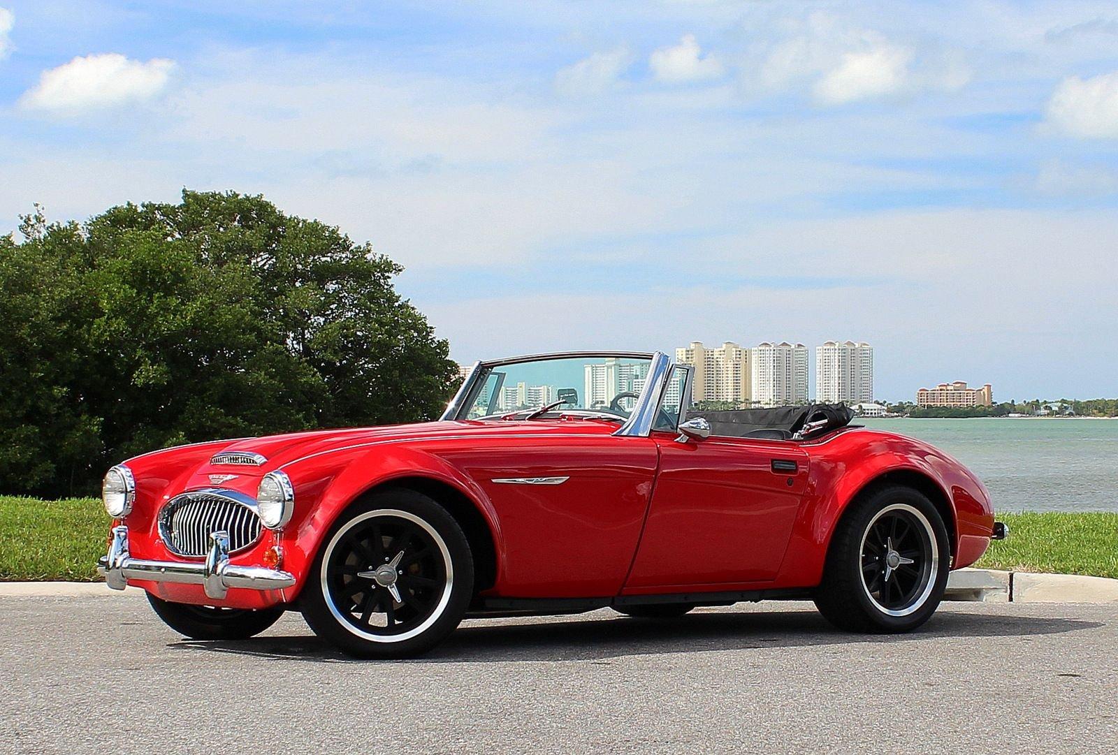 1960 austin healey 3000 replica