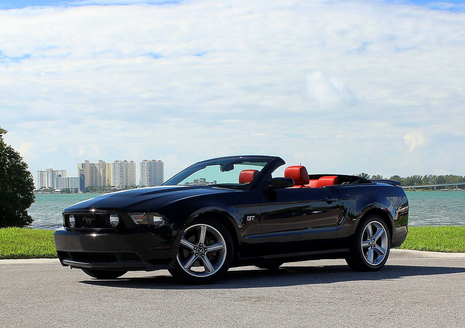 2010 ford mustang 2dr conv gt