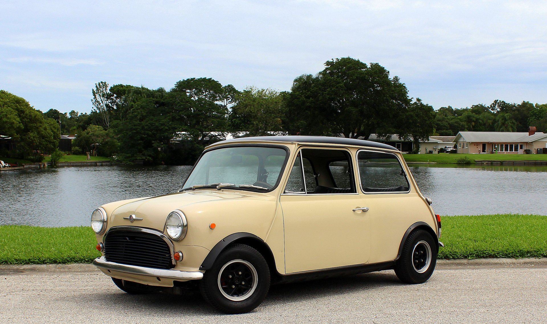 1972 mini cooper honda v tech conversion