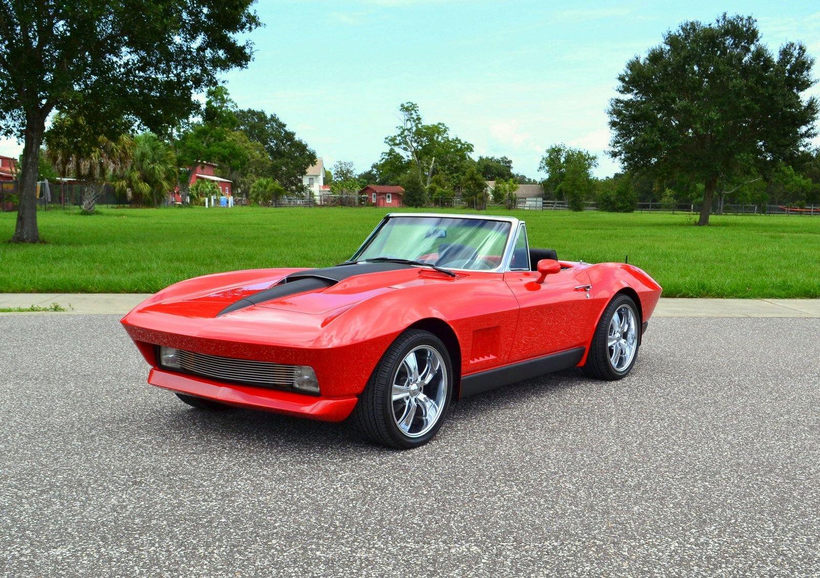 1967 chevrolet corvette roadster restomod