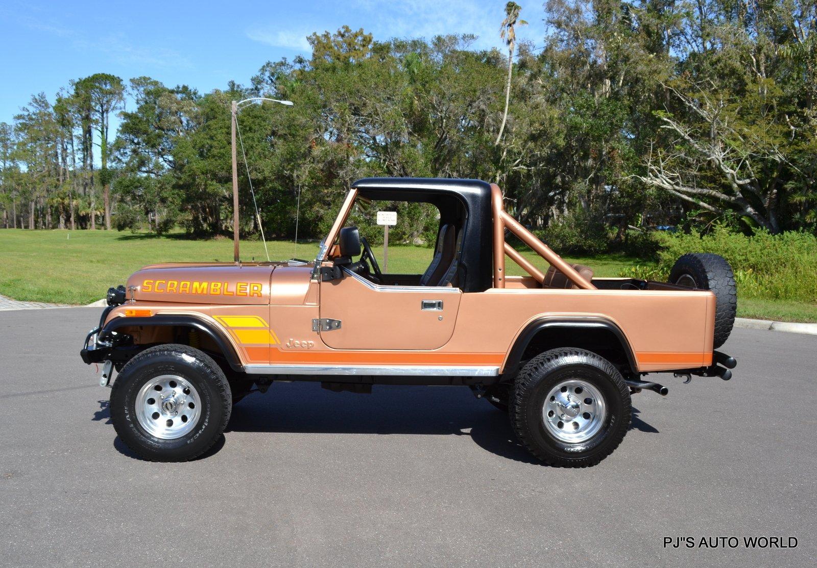 1984 Jeep Scrambler Pj S Autoworld