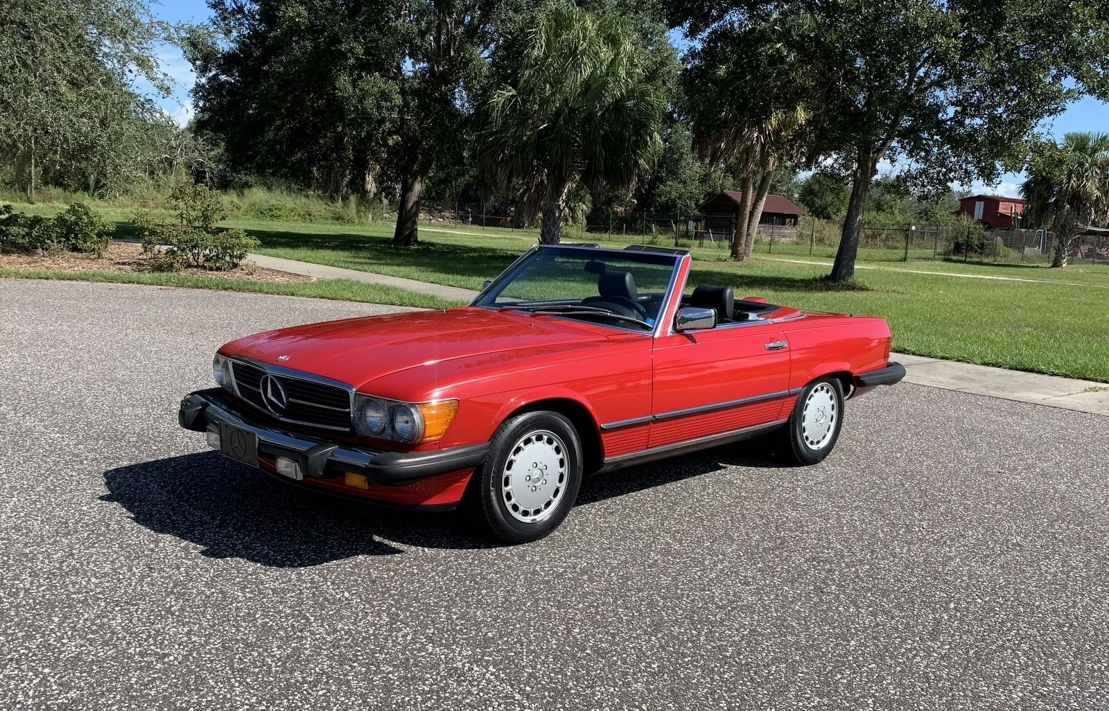 1987 mercedes benz 560sl convertible