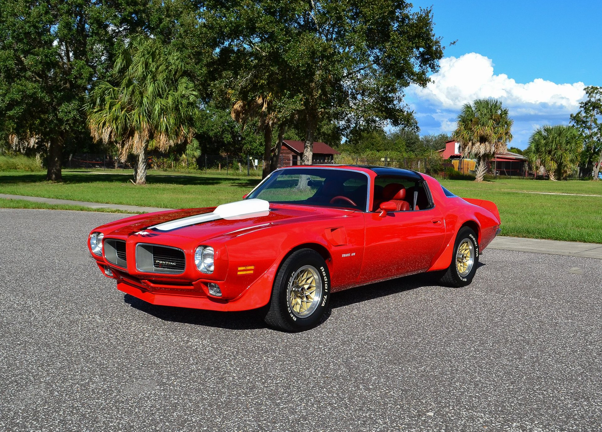 1978 pontiac trans am restomod