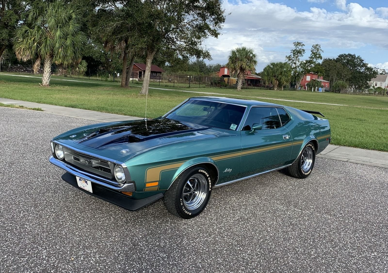 1972 ford mustang sports roof