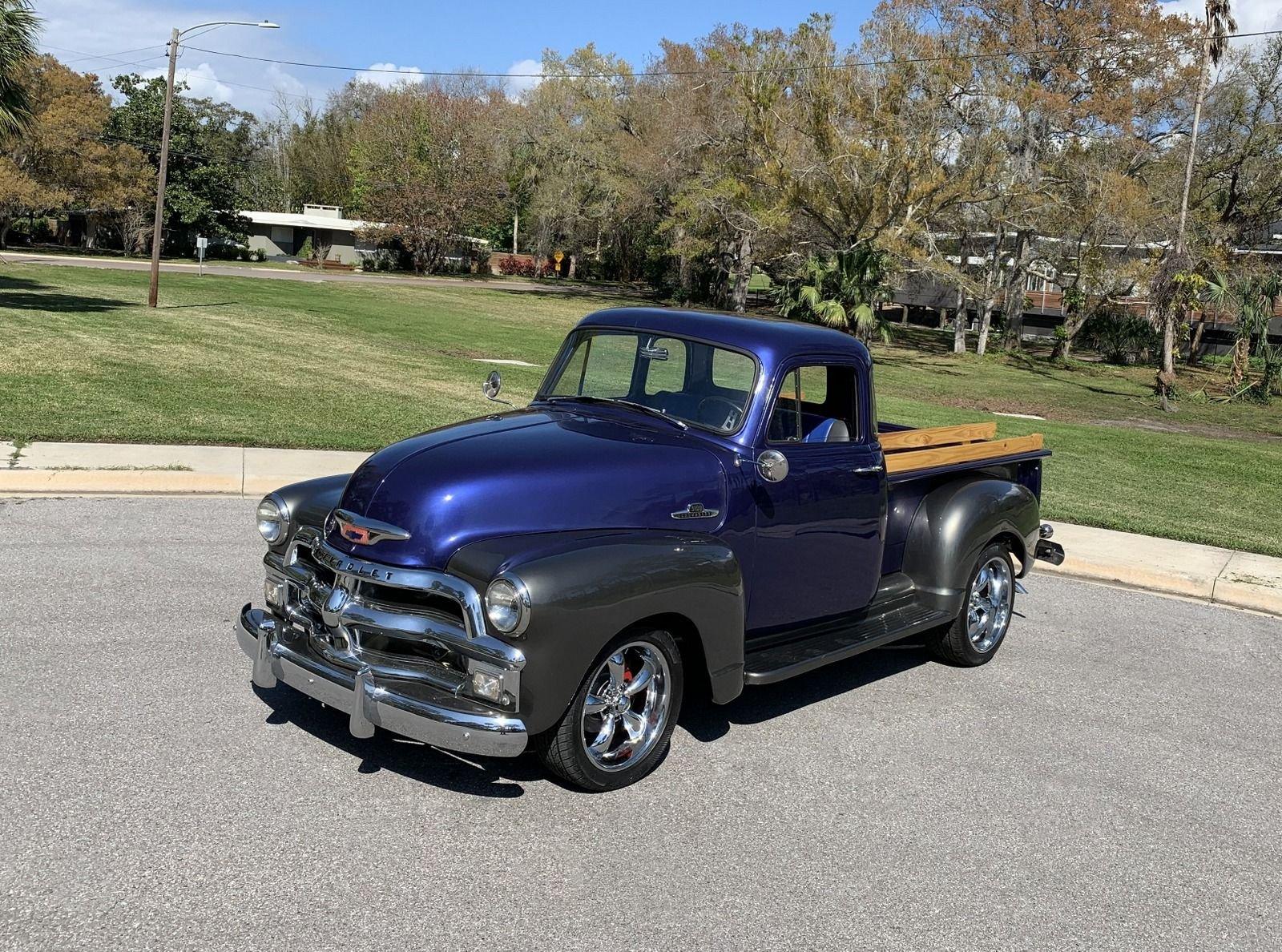 1955 chevrolet 5 window pickup