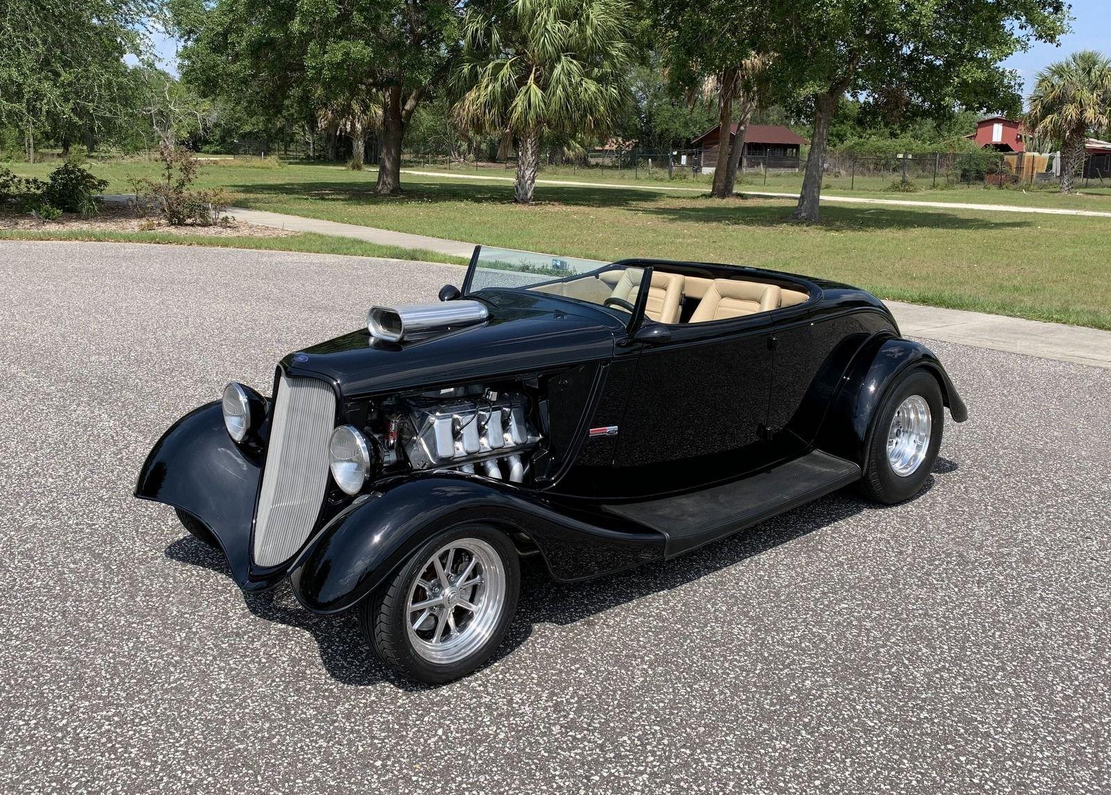 1933 ford roadster boss nine