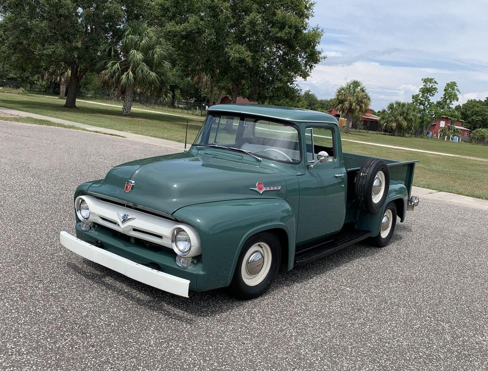 1956 ford f250 restomod pickup