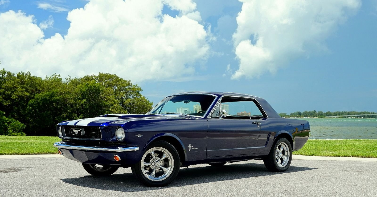 1966 ford mustang coupe restomod