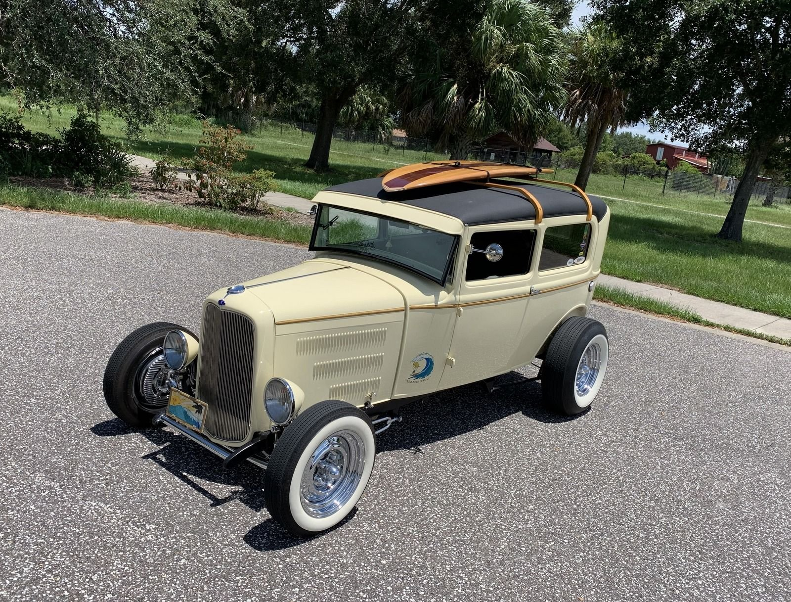 1931 ford tudor steel body street rod