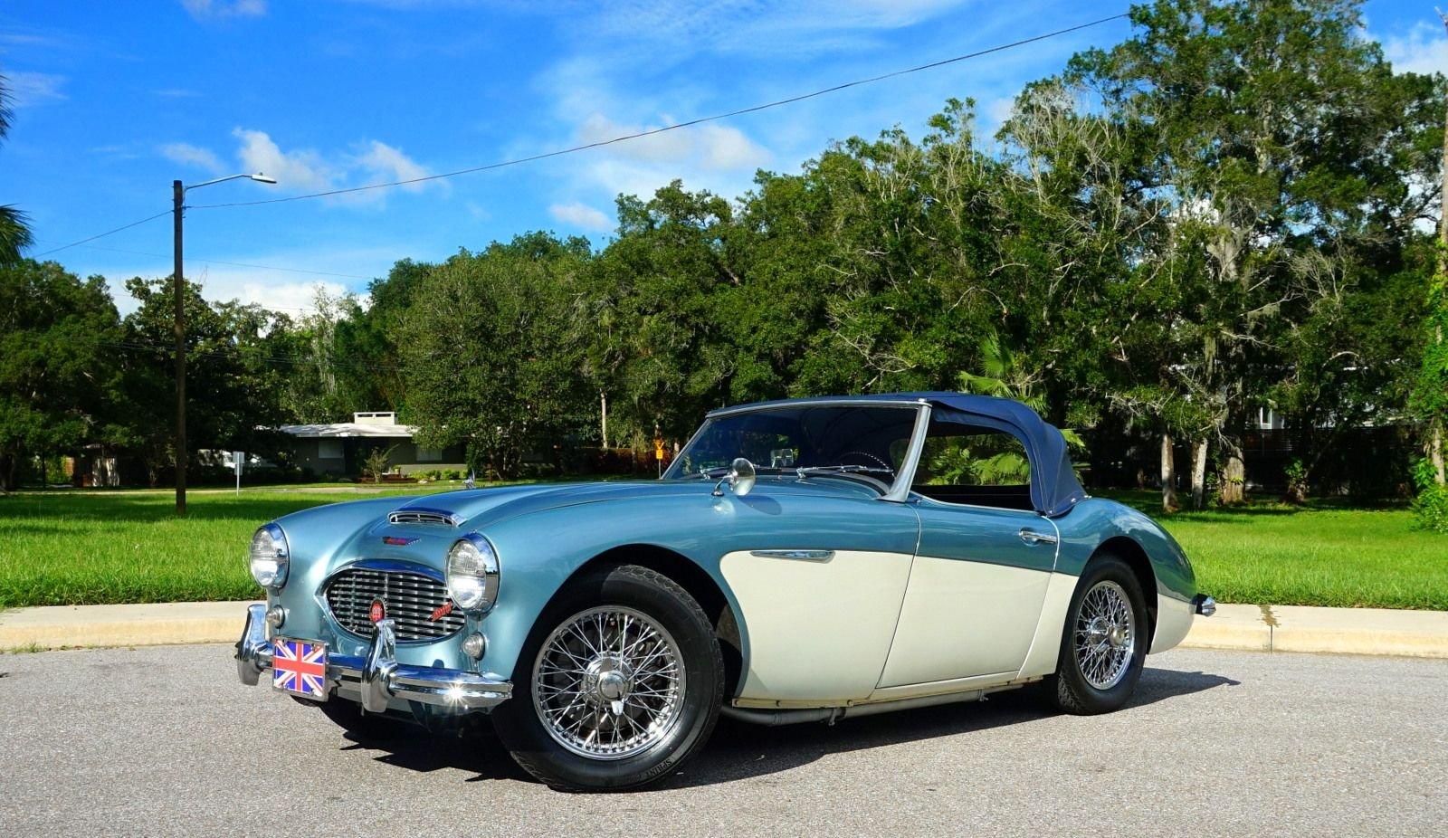 1960 austin healey 3000 roadster
