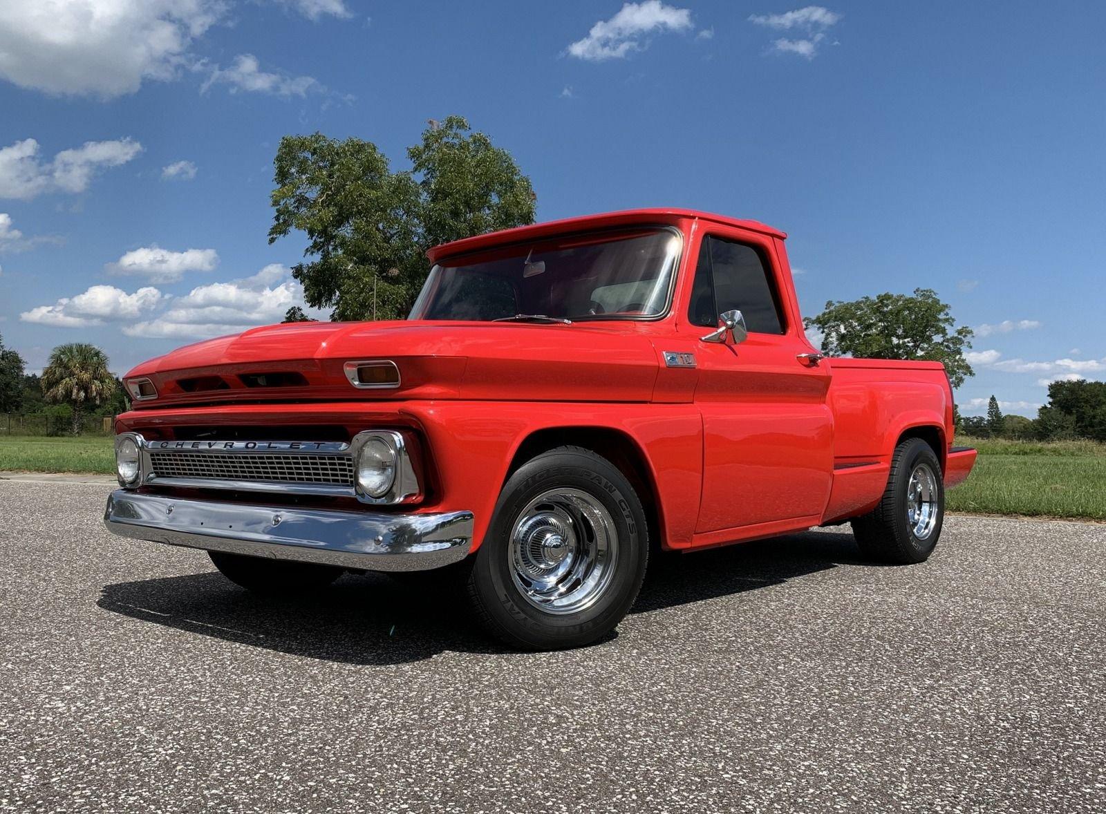 1965 chevrolet c10 restomod pickup