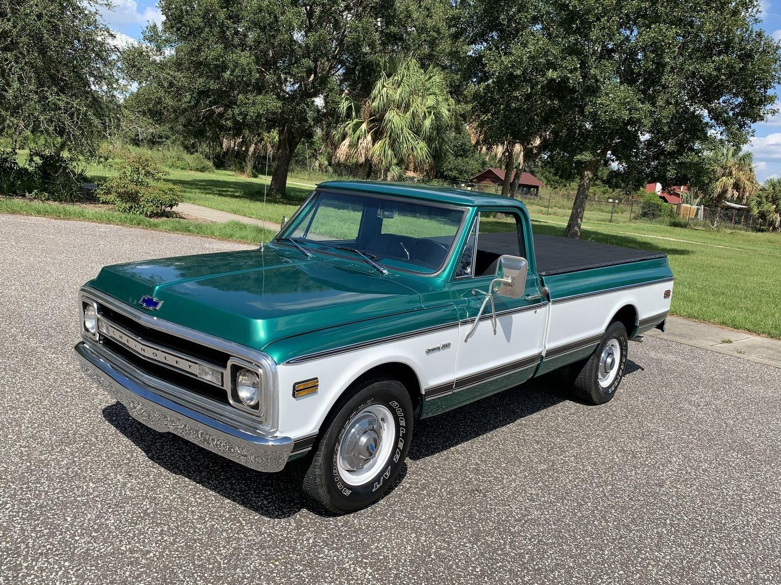 1969 chevrolet c20 pickup truck