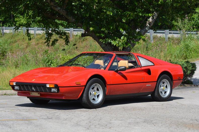 1985 Ferrari 308 GTS Euro Version