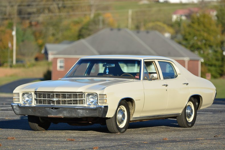 1971 Chevrolet Chevelle Malibu low miles