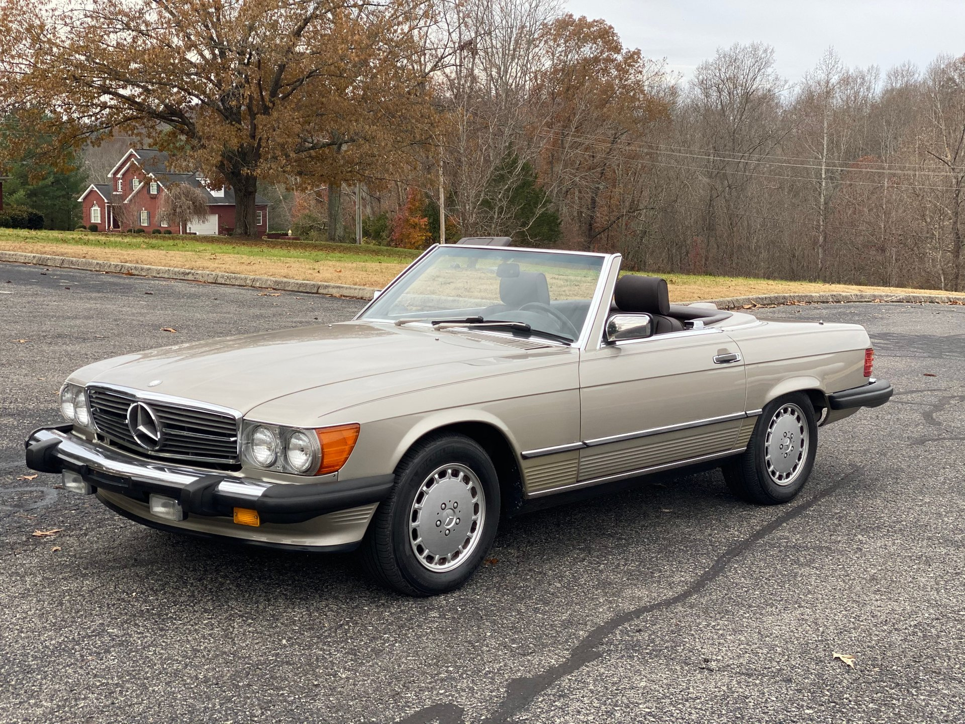 1987 mercedes benz 560 series 2dr roadster 560sl