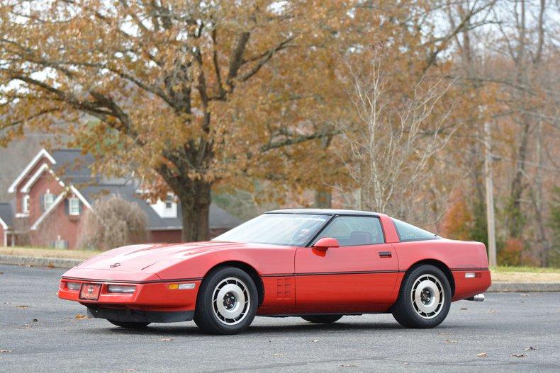 1985 Chevrolet Corvette Targa only 9150mls!