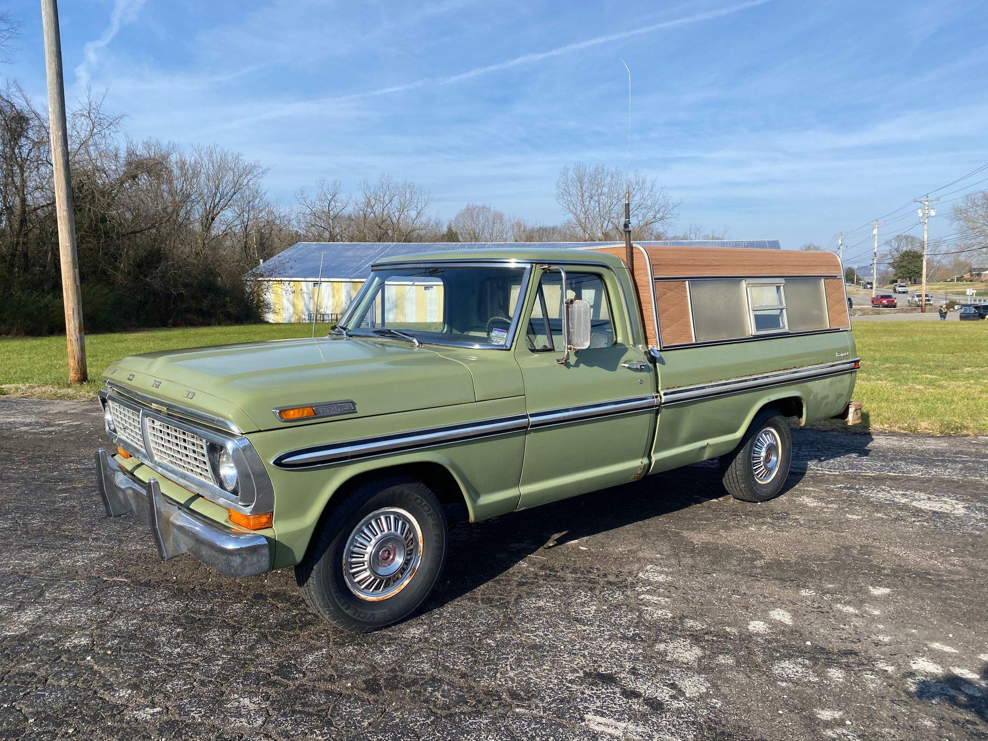 1970 ford f100 ranger