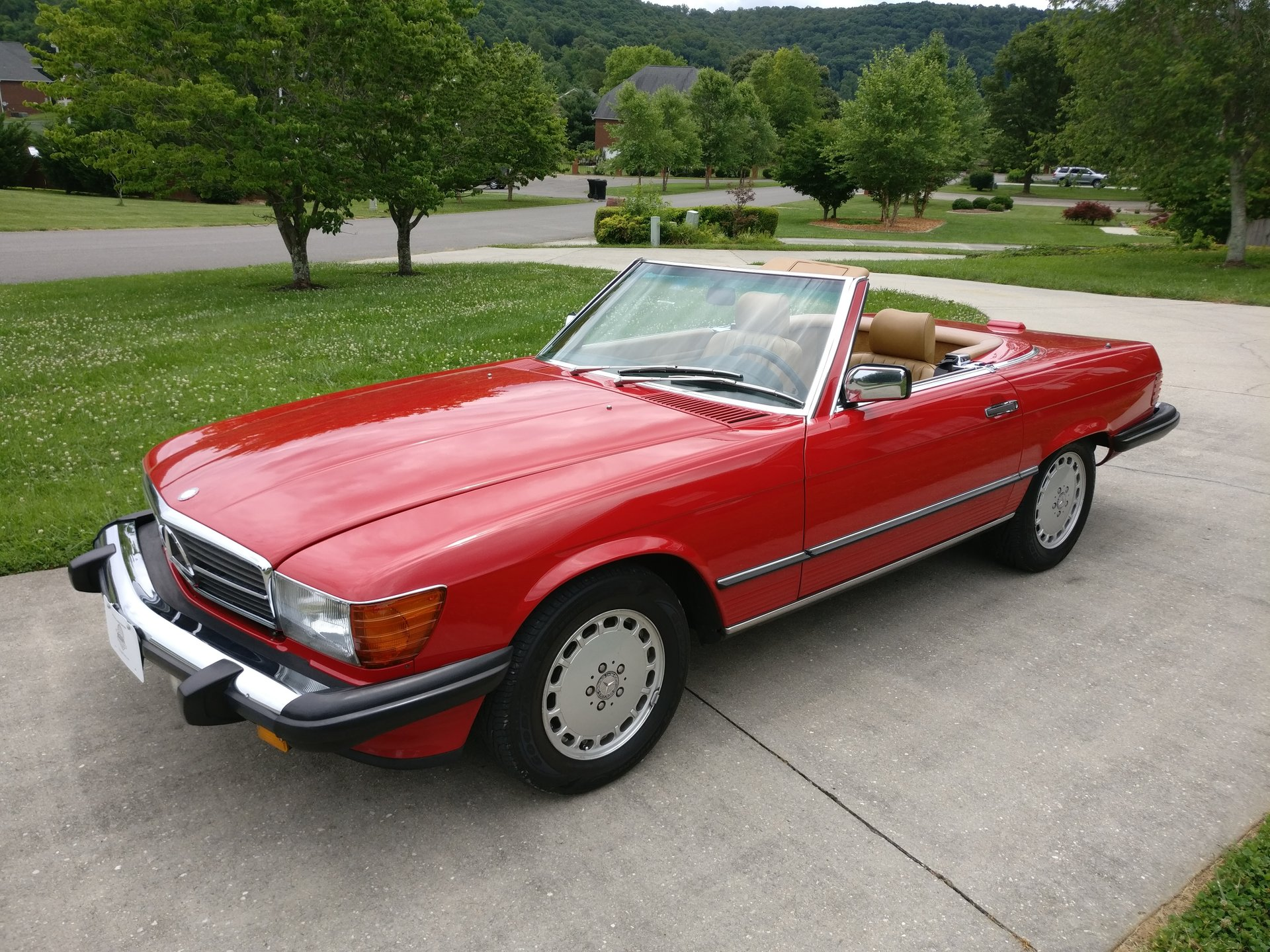 1989 mercedes benz 560 series 2dr coupe 560sl roadster