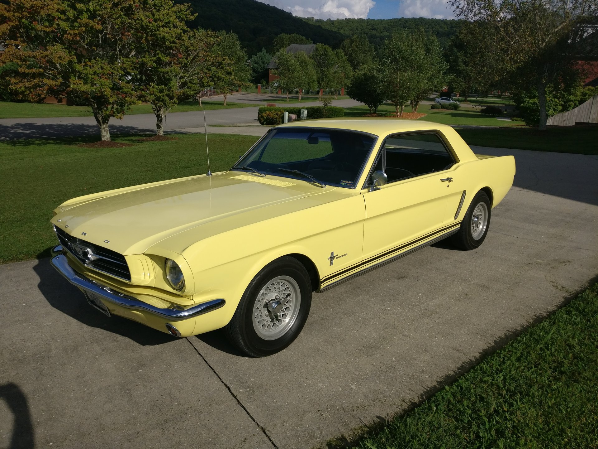 1965 ford mustang 302cui v8 4 speed