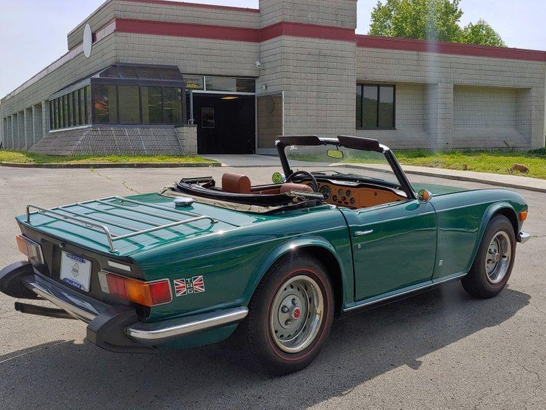 1974 Triumph TR6 10