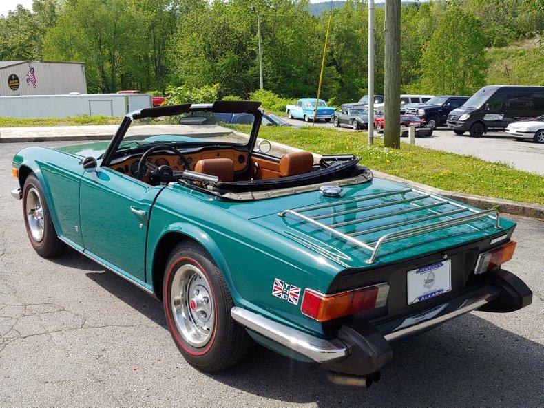 1974 Triumph TR6 9