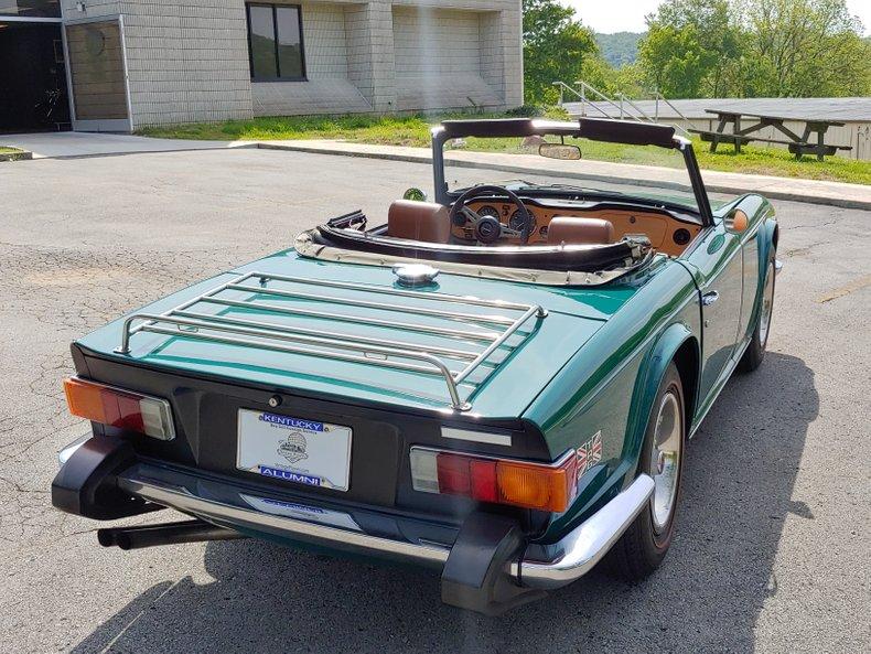 1974 Triumph TR6 11