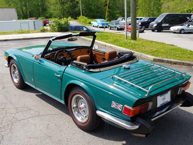 1974 Triumph TR6 20