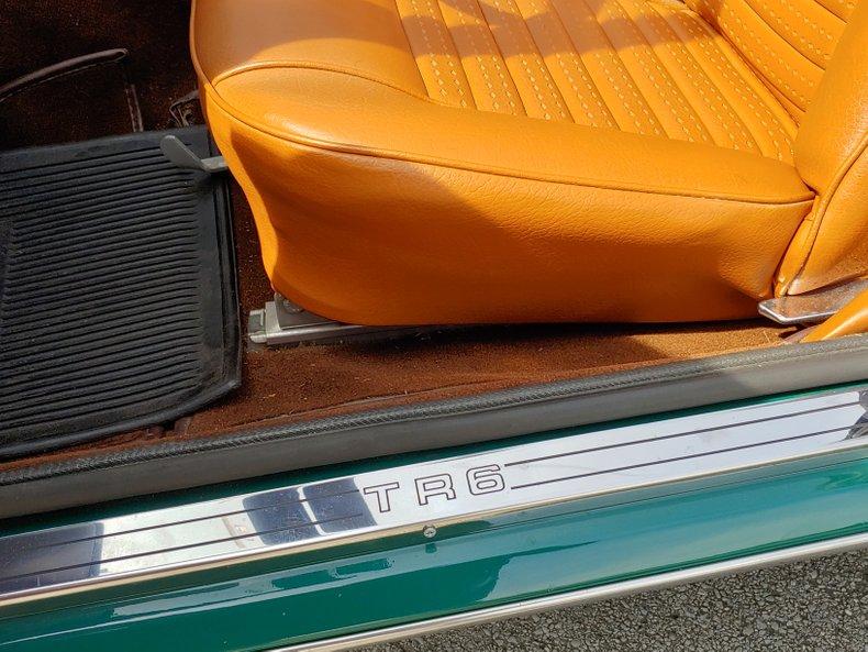 1974 Triumph TR6 31